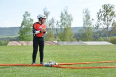 Hasičská okrsková soutěž jaro 2018 v Bohdalovicích