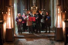 Vánoční koncert v obecní kapli ve Svérazu 2018